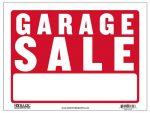 """""""Garage Sale"""" Sign S-3"""