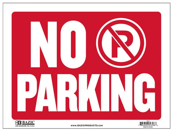 No Parking Sign S-14