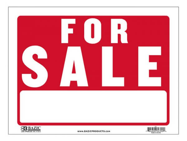 For Sale Sign S-1