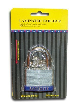 "2"" (50mm) Short Shank Laminated Padlock"