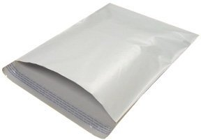 500 12x15.5 WHITE POLY MAILERS ENVELOPES BAGS 12 x 15.5