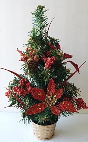 Christmas Tree Poinsettia 18 Inch