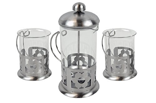 DLUX 3-piece Tea & Coffee Set (Design may vary)
