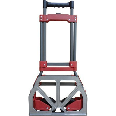 DLUX Premium Folding Hand Truck For Easy Moving- 150 lbs Capacity, Model D8488