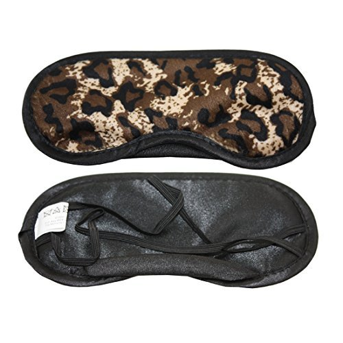 Fashion Design Leopard Pattern Animal Skin Theme Eye Mask Sleeping Mask