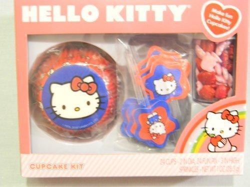 Hello Kitty Cupcake Kit By Wilton