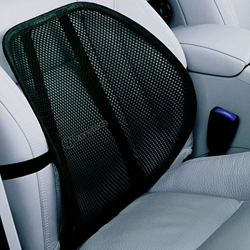 Deluxe set of Breathable Cool Mesh Support - Lumbar Support Cushion Seat Back Muscle Car Home Office Chair Pain Relief Travel, (Wholesale Set)
