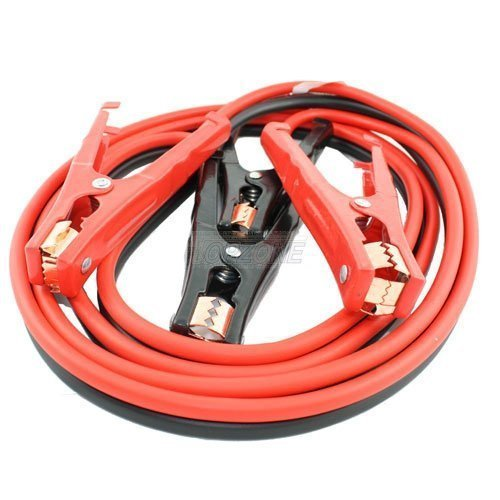 Heavy Duty Rescue Booster Jumper Cable, 4 Gauge, 400AMP, 12 Feet