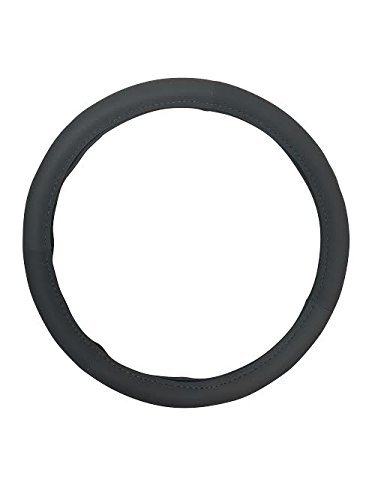 "Steering Wheel Cover, Fits most cars 14.5"" to 15.5"" (Black)"