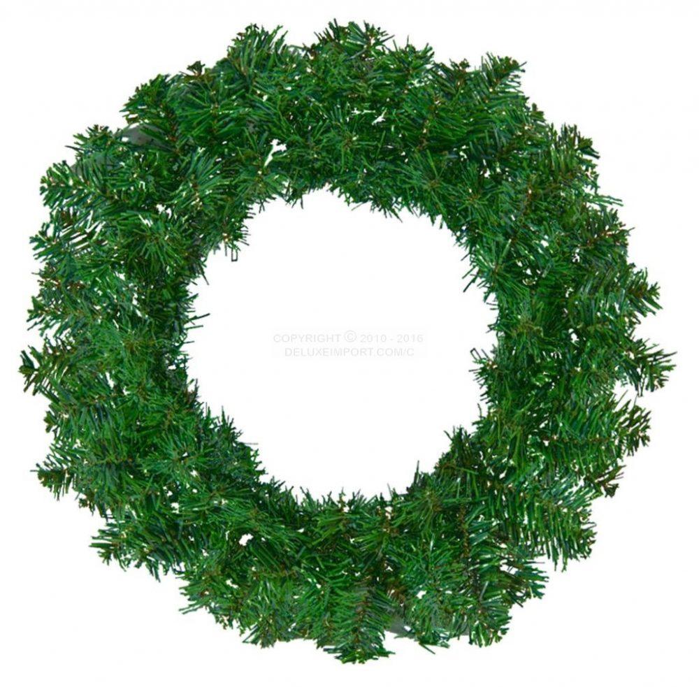 XMAS WREATH GREEN DLX355 ChristmasWreathGreenDLUX1010a